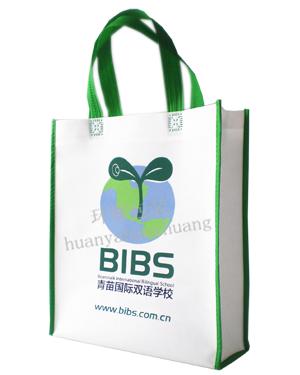 无纺布学校宣传袋厂家定做 环保印刷 精工细制 宣传效果佳
