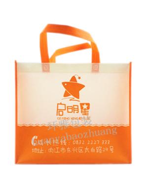 无纺布学校宣传袋定制 物美价廉 免费设计排版
