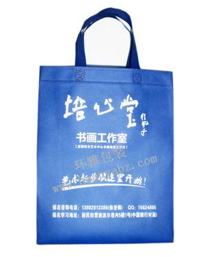 简阳环雅无纺布学校宣传袋生产工厂  规格全样式多