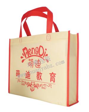 环雅学校宣传环保袋定制厂家 九年设计定做经验