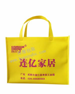 横式环保广告宣传袋—连亿家居  厂家直销 造型美观