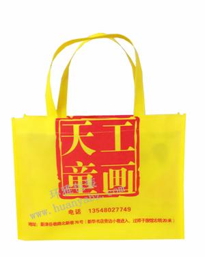 厂家定制学校宣传环保袋—天工童画 环雅包装免费设计排版 质量上乘