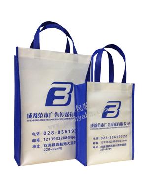 设计制作竖式环保广告宣传袋—广告传媒公司  广告效益明显