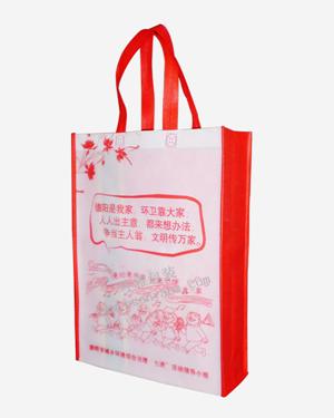 德阳厂家批量定制竖式环保袋 政府机关宣传袋  经济环保
