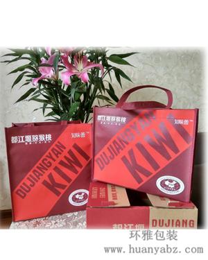 成都环保袋厂家专业生产都江堰环保手提袋 产品包装袋