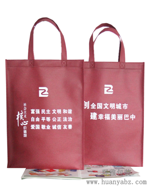 定制巴中无纺布手提袋 政府宣传环保袋 款式多规格全