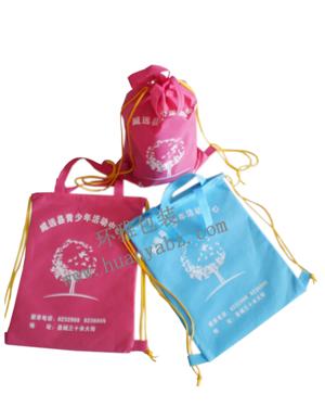 无纺布袋厂家专业供应无纺布环保袋 学校宣传背包袋