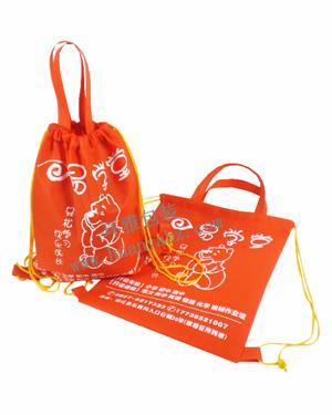 无纺布学校宣传袋 束口背包袋定制 厂家直销 量大从优