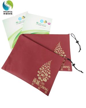 厂家定做无纺布资料袋 拉链资料袋 支持来图来样定制