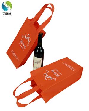 【酒水包装】无纺布红酒包装袋定做 请找无纺布袋定制厂家