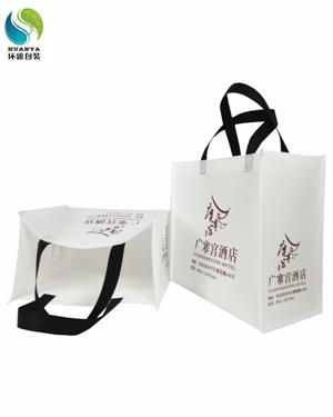 厂家供应乐山酒店宣传无纺布手提袋 免费设计 精工细制