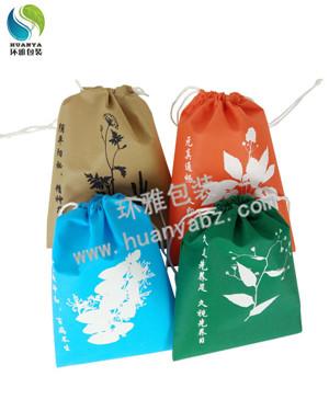 新款无纺布抽绳袋 环保收纳袋定制 厂家免费设计环保耐用