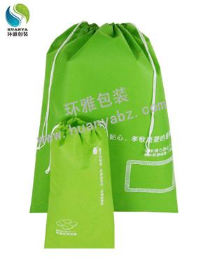 厂家定制新款鞋类(防滑地垫)收纳袋 无纺布包装袋 抽绳工艺收纳方便