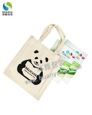 成都14安帆布手提袋定制 多种印刷工艺 精美时尚携带方便