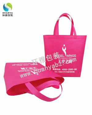 成都品牌环保宣传袋 无纺布折角袋定制 做工精致美观耐用