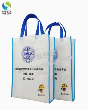 四川省医师协会宣传用无纺布手提袋 印刷精美环保耐用
