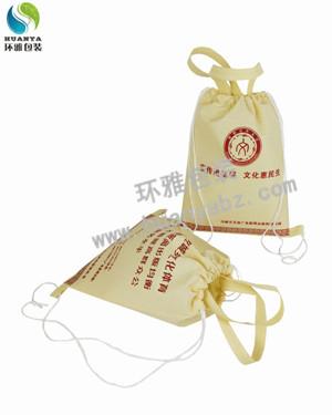成都无纺布背包袋定制 抽绳设计使用方便承重性好