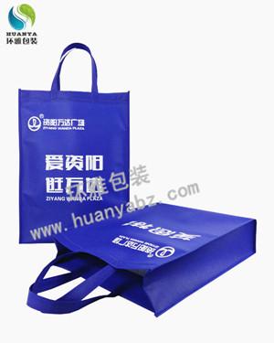 资阳万达广场无纺布超市购物袋定制 可印logo承重性好
