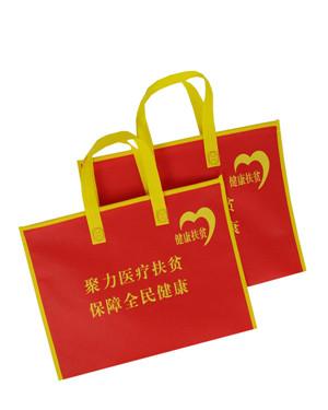 巴中无纺布宣传袋 资料拉链袋定制 厂家量身定制款式新颖