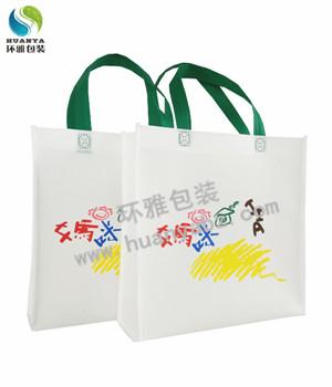 四川120g宣传无纺布手提袋定制 环雅包装支持多色印刷美观耐用