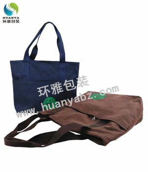 新款拉链帆布袋广告礼品袋定制 应用领域广泛环保耐用