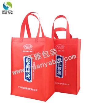 环雅包装量身定制的金典核桃无纺布包装袋 美观环保结实耐用