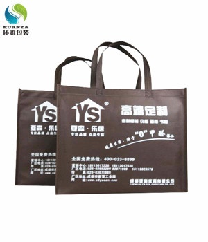 成都亚森家具宣传用无纺布手提袋定做 实体厂家生产品质保证
