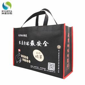 厂家定制品牌宣传无纺布包装袋 环雅包装量身制作性价比高