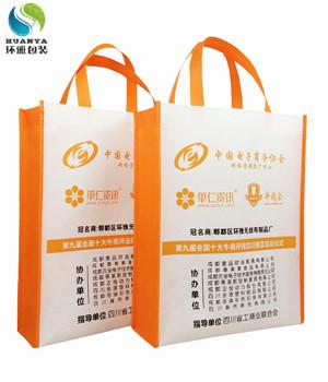 单仁资讯十大牛商分享会宣传用无纺布环保袋由环雅包装提供