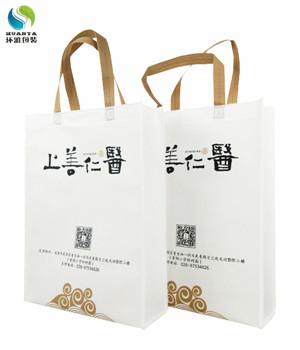 成都品牌宣传无纺布手提袋定做 丝印清晰美观环保耐用