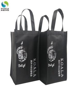 厂家定做四瓶装红酒包装袋无纺布酒水袋 做工精湛可印logo